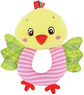 Плюшена дрънкалка - Пиленце - кукла