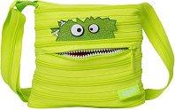 """Чанта за рамо - Grizzle - От серията """"Zipit: Talking Monsters"""" -"""
