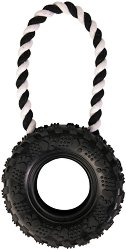 Автомобилна гума с въже -