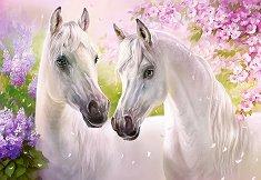 Романтични коне - пъзел