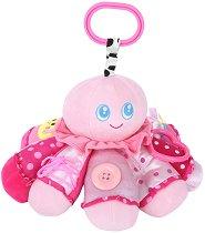 Плюшено октоподче - Музикална играчка за детска количка или легло -