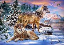 Вълци - пъзел