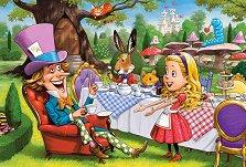 Алиса в страната на чудесата - Пъзел с едри елементи - пъзел
