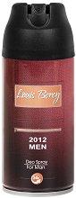 Louis Bercy 2012 Man Deo Spray - Мъжки дезодорант - пудра