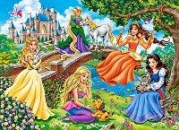 Принцеси в лятна градина -