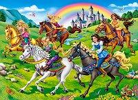 Принцеси на конна езда - премиум - пъзел
