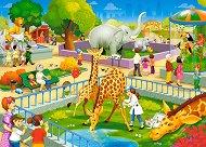 В зоологическата градина - пъзел