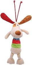 Плюшено кученце - Музикална играчка за детска количка или легло -
