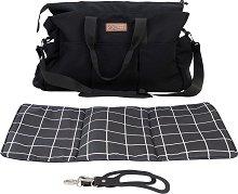 Чанта - Double Satchel - Аксесоар за детска количка с подложка за преповиване -
