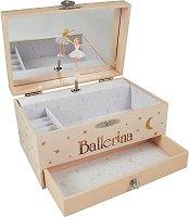 Музикална кутия за бижута - Фелиси - детски аксесоар
