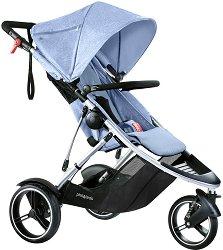 Комбинирана бебешка количка - Dash - С 3 колела -
