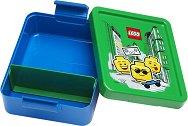 """Кутия за храна - LEGO Iconic - От серията """"Iconic"""" - детски аксесоар"""