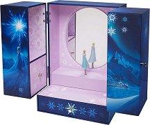 """Музикална кутия за бижута - Елза - Детски аксесоар от серията """"Замръзналото кралство"""" -"""
