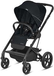 Комбинирана бебешка количка - Balios S 2018 - С 4 колела - столче за кола