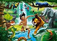 Книга за джунглата - премиум - пъзел