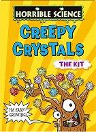 """Зловещи кристали - Образователен комплект от серията """"Страховитото в науката"""" - играчка"""