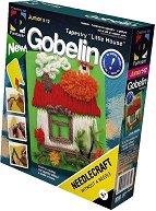 """Направи сам гоблен без игла - Малка къща - Творчески комплект от серията """"Gobelin"""" - играчка"""