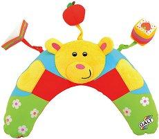 Надуваема бебешка възглавница за игра по корем - Tummytime Ted -