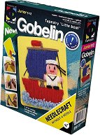 """Направи сам гоблен без игла - Моряк - Творчески комплект от серията """"Gobelin"""" - творчески комплект"""