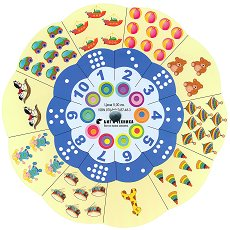Златно ключе: Магически кръг на числата - автодидактична игра за 3. група - компилация