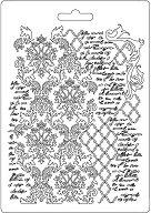 Силиконови форми за глина - Текстури и ръкопис