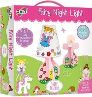 Създай сам -  Нощна лампа с феи - Творчески комплект - играчка