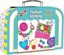 Модерно плетиво - Творчески комплект в куфарче - играчка