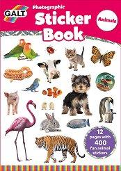 Galt: Животни - книжка със стикери : Animals - Sticker Book -
