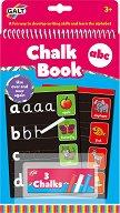 Книжка за писане с тебешири - Букви - Образователен комплект -