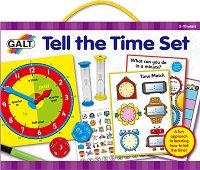Колко е часът - Образователен комплект - творчески комплект