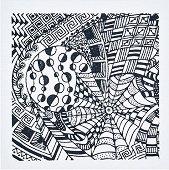 Гумен печат - Сънища - Размери 9 х 9 cm