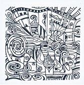 Гумен печат - Селце - Размери 9 х 9 cm