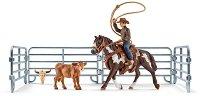 """Каубой с ласо - Комплект фигури и аксесоари от серията """"Фермата"""" -"""
