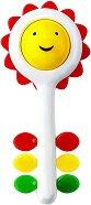 Дрънкалка - Слънчоглед - Бебешка играчка - играчка