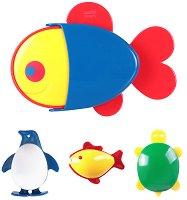 Животни - Комплект играчки за баня -