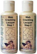 Двуфазен напукващ се лак - Web Crakling Lacquer - Комплект от Стъпка 1 и Стъпка 2