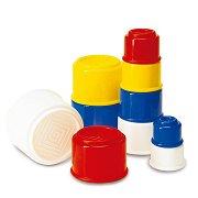 Цветни чашки - Играчка за сортиране -