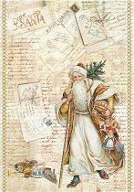 Декупажна хартия - Писма до Дядо Коледа - Формат А4