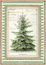 Декупажна хартия - Коледна елха - Формат А4