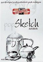 Скицник - Sketch - Формат А4 или А3, 20 листа