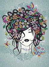 Декорирай сама с пайети - Момиче - Творчески комплект -