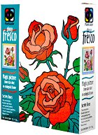 """Създай сам картина с цветен брокат - Рози - Творчески комплект от серията """"Glossy Fresco"""" - творчески комплект"""