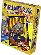 """Оцветявай с цветен пясък - Коте с аквариум - Творчески комплект от серията """"Glossy Fresco"""" -"""