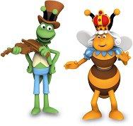 """Флип и Кралицата - Комплект фигури от серията """"Пчеличката Мая"""" -"""