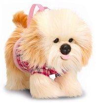 Плюшена чанта кученце - Териер -