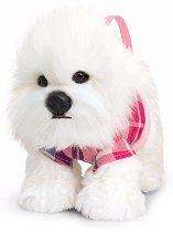 Плюшена чанта кученце - Пудел - играчка