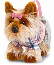 Плюшена чанта кученце - Йоркширски териер -