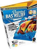 """Създай и оцвети барелефно пано - Приключение - Творчески комплект от серията """"Painted Bas Relief"""" - творчески комплект"""