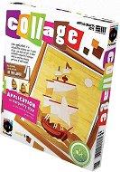 """Създай сам колаж без ножица и лепило - Лодка - Творчески комплект от серията """"Collage"""" -"""