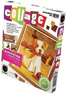 """Създай сам колаж без ножица и лепило - Кученце - Творчески комплект от серията """"Collage"""" -"""